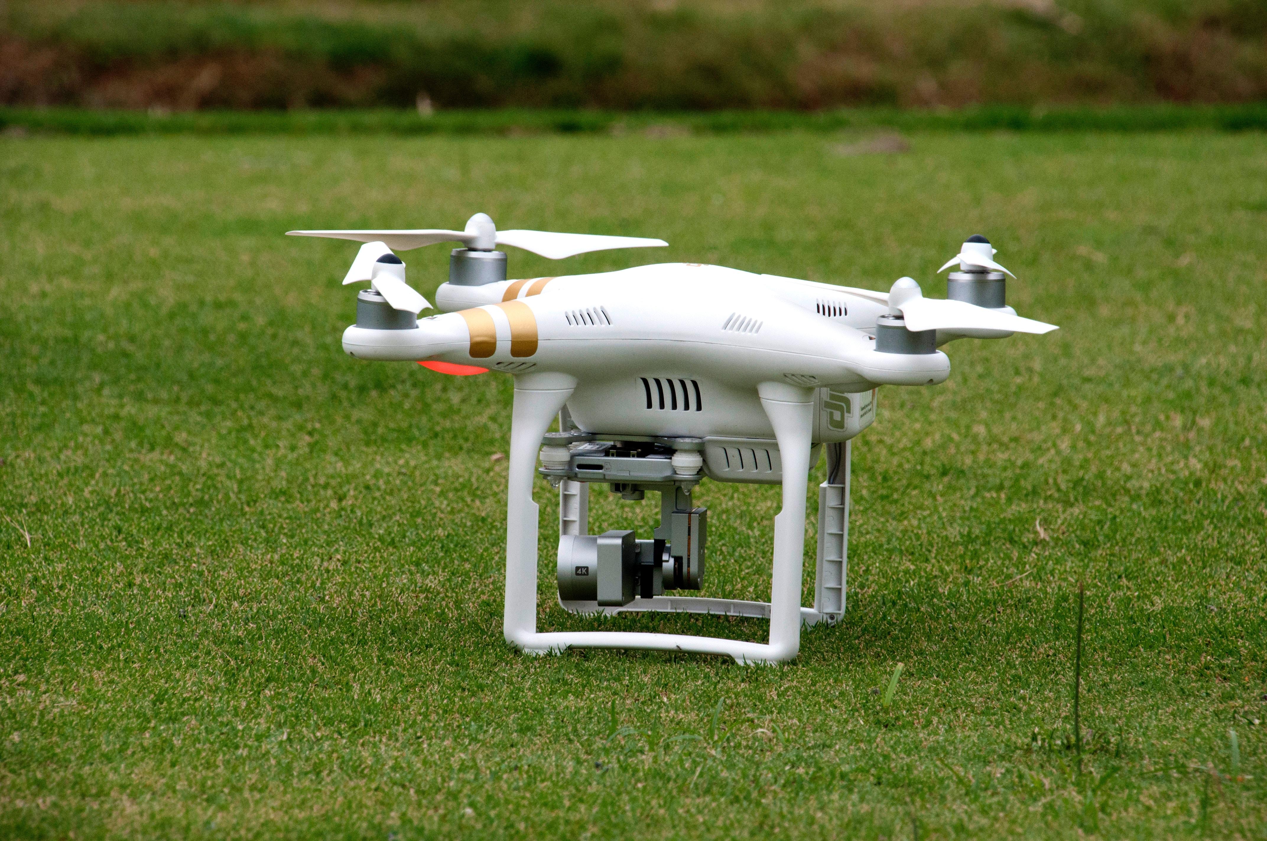 drone no campo