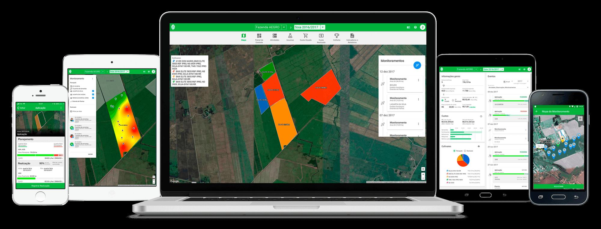 software agrícola aegro