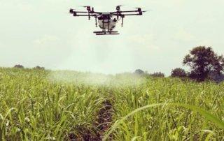 drones para pulverização