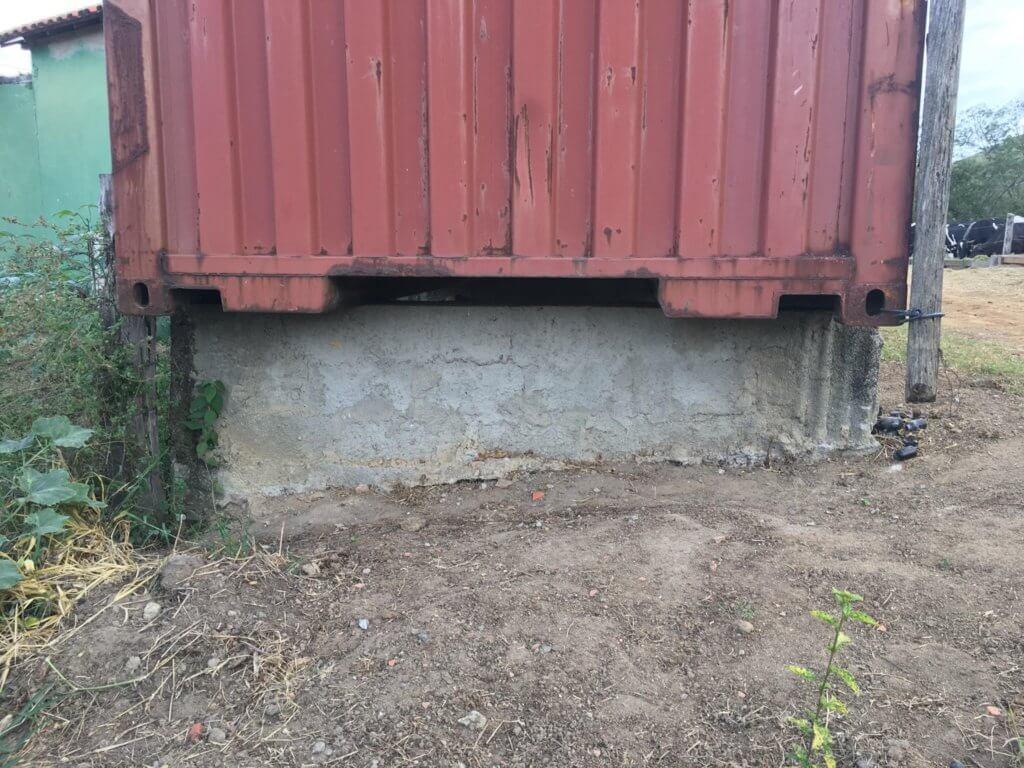 container para armazenar grãos