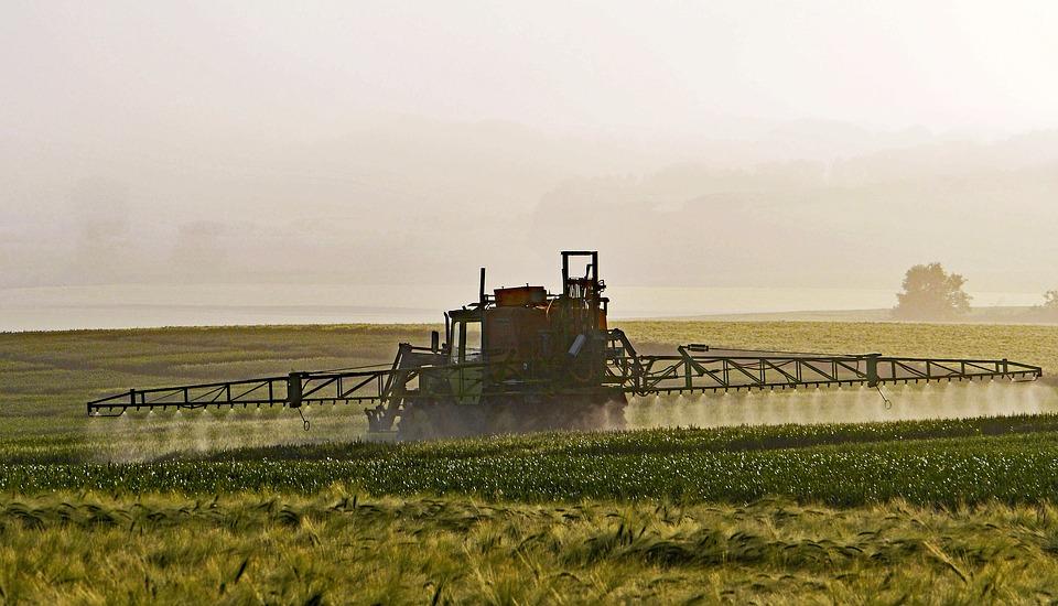 pulverização agrícola